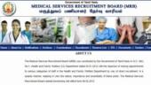 MRB Tamil Nadu Recruitment 2019: 520 posts for Nurse, check details