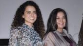 Kangana Ranaut called Shabana Azmi anti-national. Here is how the veteran actress responded