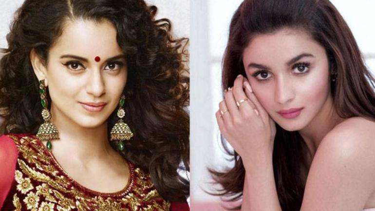 Image result for alia bhatt with kangana