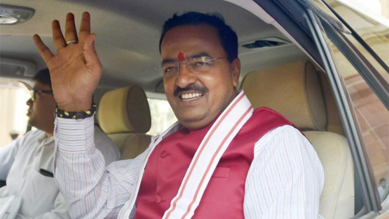 Lucknow: UP Deputy CM Keshav Maurya's chopper makes emergency landing