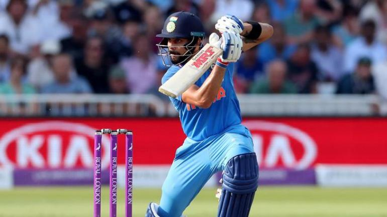 Virat Kohli has been dominating the batting charts in ODIs for quite sometime now (Reuters Photo)