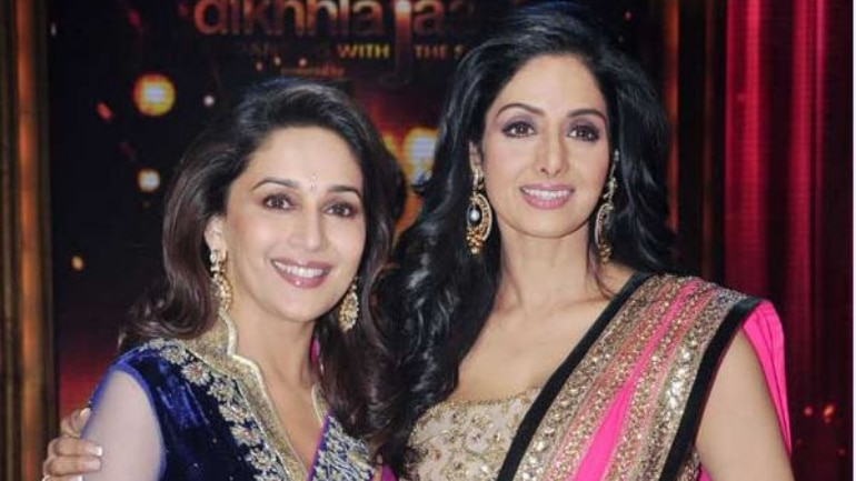 Madhuri Dixit opened up on her last meeting with Sridevi.