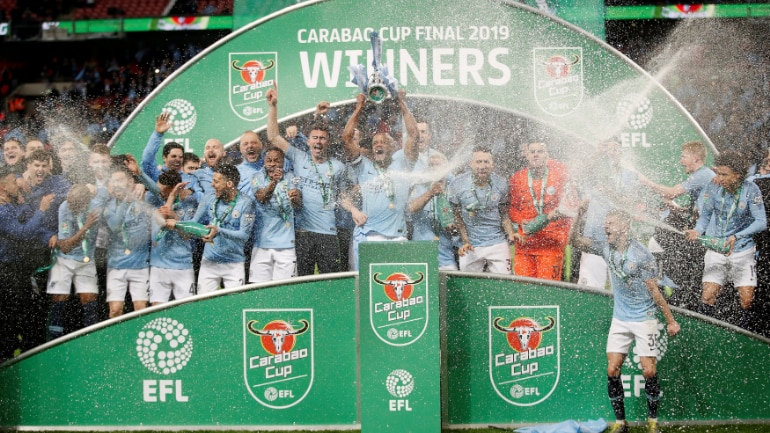 Man city vs chelsea carabao cup final highlights