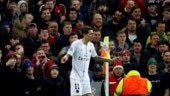 Manchester United face UEFA punishment after fans throw bottle at PSG star Angel Di Maria