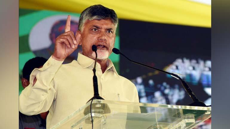 Chandrababu to sit on fast in Delhi on Monday