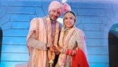Neeti Mohan shares wedding photo with Nihar Pandya and gives update on dad's health