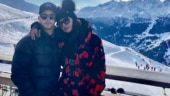Priyanka Chopra and Nick Jonas are having a blast in a snow-capped location. See videos