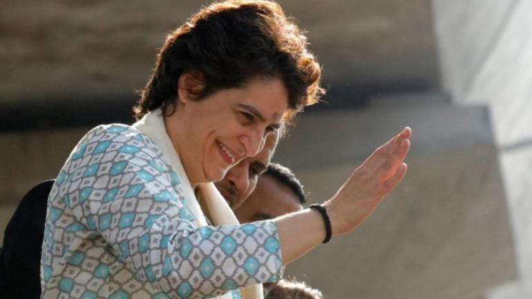 Priyanka Gandhi Vadra was appointed AICC general secretary for UP east in January and took charge last week. (File photo: Reuters)