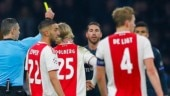 Sergio Ramos charged with getting booked deliberately vs Ajax Amsterdam