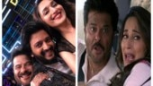 Riteish Deshmukh shares his Total Dhamaal smile with Anil Kapoor and Madhuri Dixit. See pic