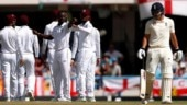 West Indies vs England 2nd Test: Roach and Gabriel bowl England out for 187 on Day 1