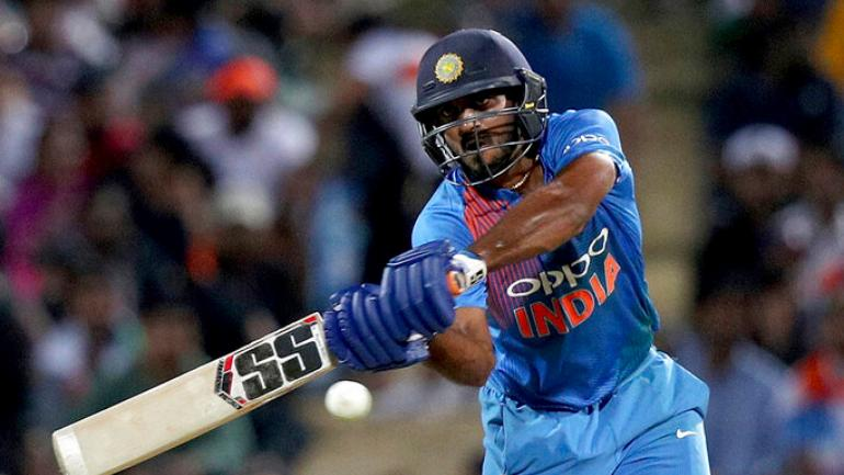 Vijay Shankar, the forerunner to replace Shikhar Dhawan in the playing XI | Image Source: BCCI