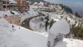 Snowfall in Shimladisrupts normal life, Jammu-Srinagar highway blocked due to landslides