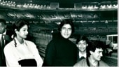Amitabh Bachchan with Sridevi, Salman and Aamir in rare pic from their first concert. Viral now