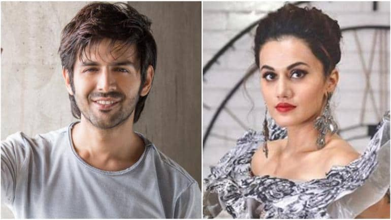 Kartik Aaryan opens up on rumours of getting Taapsee Pannu dropped from  Pati Patni Aur Woh remake - Movies News