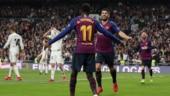 Luis Suarez nets brace as Barcelona thrash Real Madrid to reach Copa del Rey final