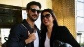 Sushmita Sen's boyfriend Rohman Shawl has always got her back. Watch adorable video