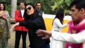 Sushmita Sen and Rohman Shawl have a blast at family wedding in Delhi. Inside pics, videos