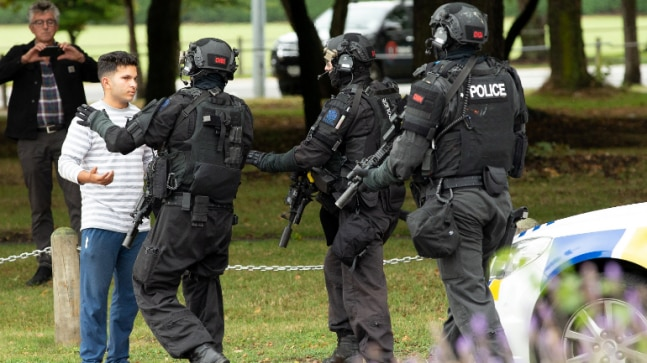 Shooting In Christchurch Picture: Christchurch Mosque Shooting: New Zealand Police Detain 4