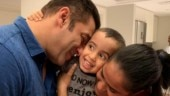Salman Khan hugging nephew Ahil and sister Arpita is your Friday treat. See pic