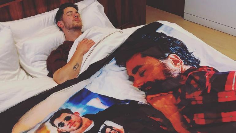 Nick Jonas and John Stamos Instagram bromance