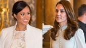 Meghan Markle and Kate Middleton fight? Royal duo share sweet moment at Queen's party. Watch video