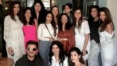 Sunita Kapoor goes on birthday lunch with all Kapoor girls. Hubby Anil gatecrashes party