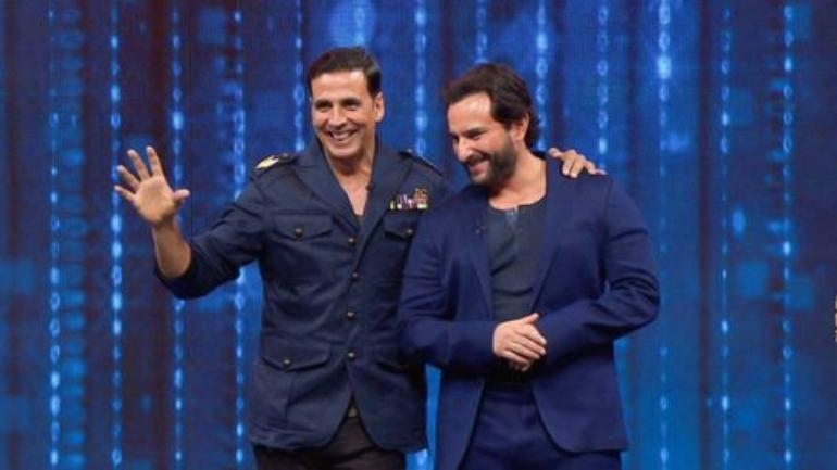 Akshay compares his on-screen pairing with Saif to the famous comedy-duo Laurel and Hardy