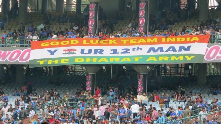 The Bharat Army will have a presence of at least 5000-6000 fans for India's matches at ICC World Cup