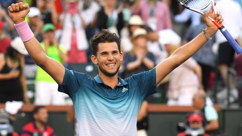 Dominic Thiem rises to career-high ranking of No.4 after his Indian Wells win (Reuters Photo)