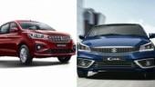 Maruti Suzuki Ciaz, Maruti Suzuki Ertiga to be sold by Toyota in India in future