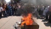 Traders express resentment against China, burn Chinese goods ahead of Holi