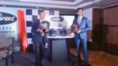 Sandhar Amkin launches Mavox range of helmets in India