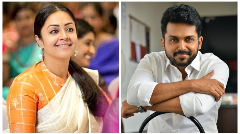 Karthi and sister-in-law Jyothika to join hands for Jeethu