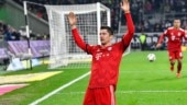 Bayern Munich crush Gladbach 5-1 to join Borussia Dortmund at top