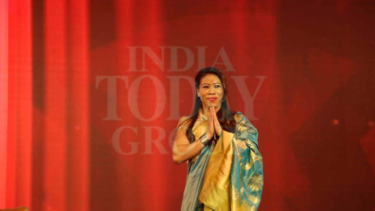 Mary Kom wants to win her first Olympic gold medal
