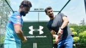 IPL 2019: Michael Phelps tries his hand at cricket with Delhi Capitals