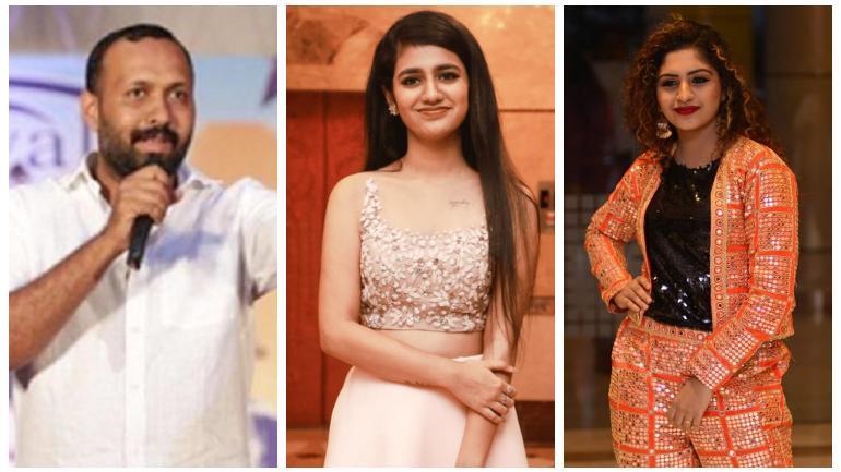 Omaru Lulu, Priya Prakash Varrier and Noorin Shereef