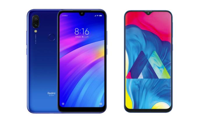 1da7528b423e Xiaomi Redmi 7 vs Samsung Galaxy M10  Price