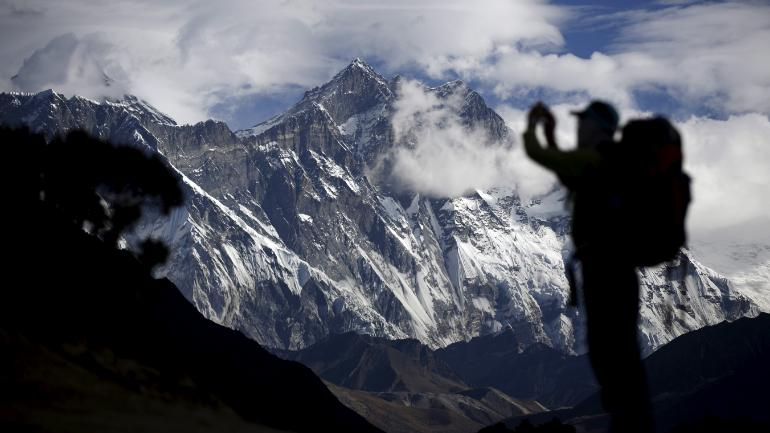 Mount Everest Photo: Reuters