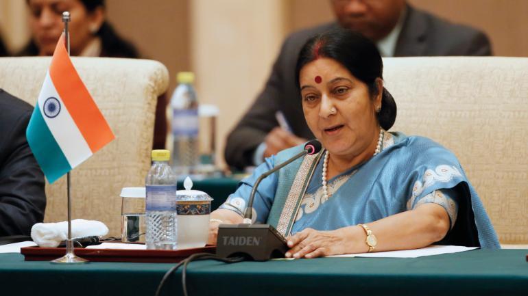 Sushma Swaraj's Twitter response wins the Internet Photo: Reuters