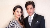 Shah Rukh Khan wishes wife Gauri World Theatre Day with a magical couple photo. See pic