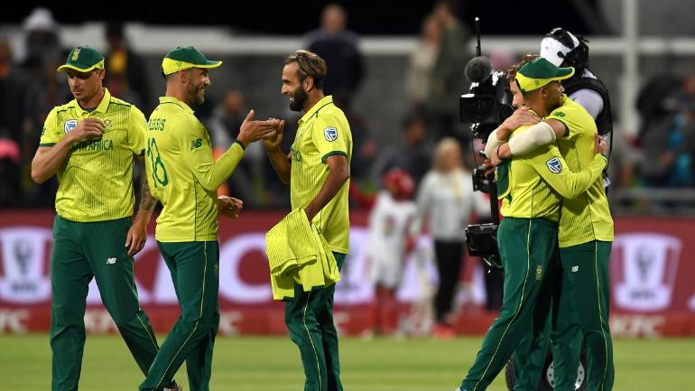 South Africa trumped Sri Lanka in the super over after both were tied on 134
