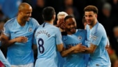 Premier League: Sterling hat-trick sends Manchester City four clear of Liverpool