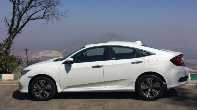 2019 Honda Civic launched in India, price starts at Rs 17 ...
