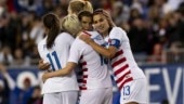U.S. women's football players sue federation for gender discrimination