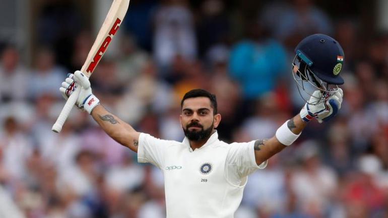Virat Kohli has a total of 922 points and is on a phenomenal run in Test cricket