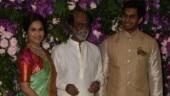 Akash Ambani-Shloka Mehta wedding: Rajinikanth, Soundarya and son-in-law Vishagan arrive in style