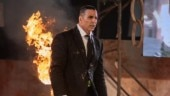 Akshay Kumar setting the stage on fire for the launch of his new show. Photo: Twitte/ Akshay Kumar