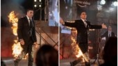 Akshay Kumar sets himself on fire at The End launch, inspires most hilarious memes